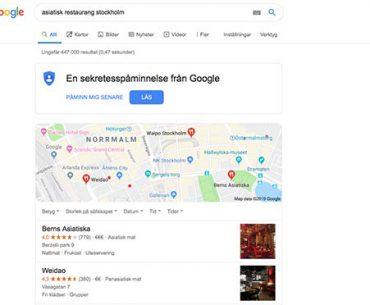 Asiatisk restaurang Stockholm