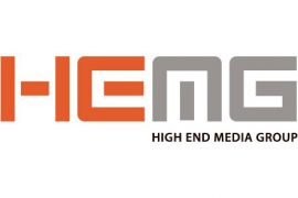 High End Media Liggande logo